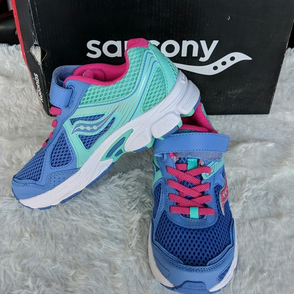 Saucony Other - Saucony Girls 2M SY-G COHESION 10 AC PER/T NIB